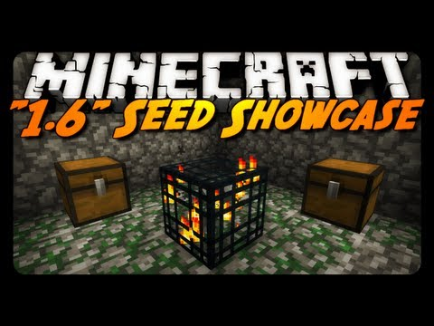 "Minecraft Seeds - ""1.6"" (Crazy Dungeons, Caves & Mountains!)"