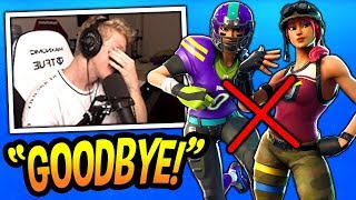 Tfue Says He's REMOVING ALL HIS SKINS & DELETING His Fortnite Account! *RIP* Fortnite SAVAGE Moments
