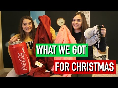 What We Got for Christmas 2016!