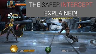 The Safe Intercept Explained - Marvel Contest Of Champions 10.1 MB
