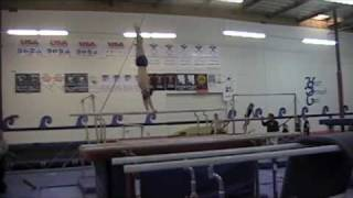 Andrew Miguel - gymnastics training - Fall, 2009