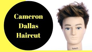 Cameron Dallas Haircut & Color - TheSalonGuy