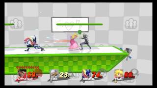 Smash Wii U: Playing on the Miiverse Stage