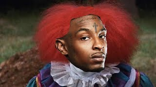 """if 21 savage starred in the movie """"it"""""""