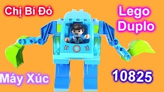 Đồ Chơi Lego Duplo 10825 Máy Xúc Cần Cẩu LEGO DUPLO Disney 10825 Miles Exo-Flex Suit Building Kit
