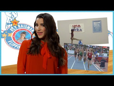 Aly Raisman Flippin' Awesome Ep. 2. - Track & Field -