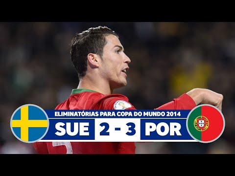 Sweden vs Portugal 2-3 narration Nuno Matos Radio Antena - 1 Portugal 2013