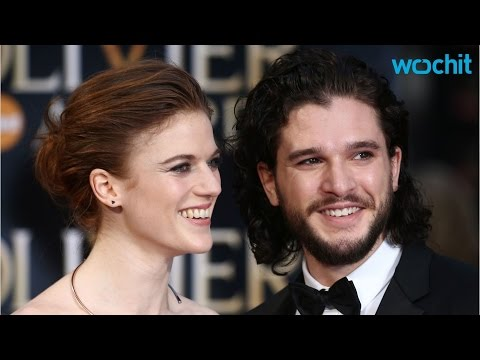 Game of Thrones' Couple Kit Harington and Rose Leslie Make Red Carpet Debut