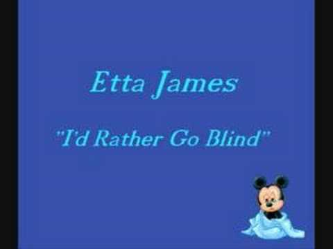 Etta James-i'd Rather Go Blind video