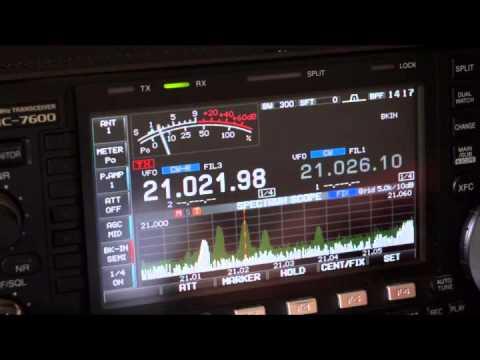 Icom IC-7600 vs Yaesu FTdx-3000