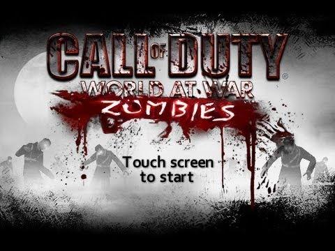 Cod World At war El Primer Mapa Zombies, Este es Dificil Parte 1