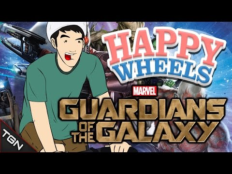 Happy Wheels: GUARDIANES DE LA GALAXIA