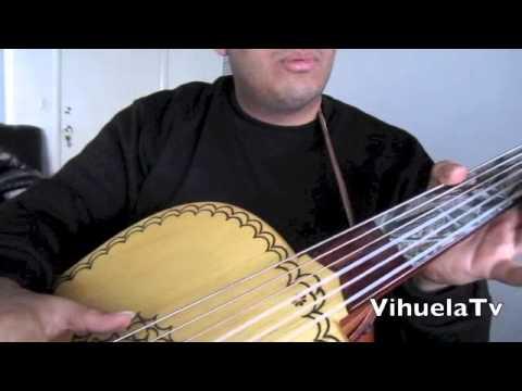 VihuelaTv (( Guitarron escala de Do ))