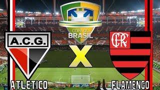 Atlético Goianiense 1 x 2 Flamengo (24/05/2017) Copa do Brasil 2017 - OITAVAS DE FINAL [PES 2017]
