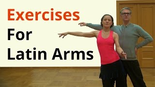 Basic Arm Exercises for Latin Dancing