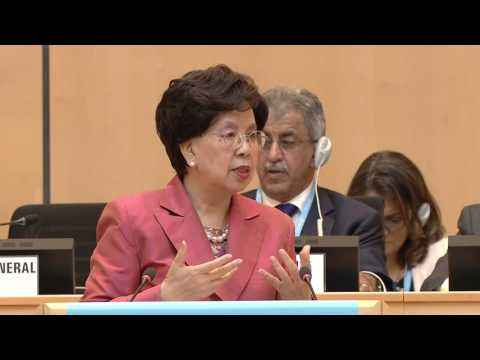 WHO: WHA 69 - Speech by Dr Margaret Chan, WHO Director-General