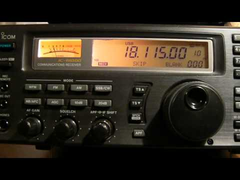 18115khz,Ham Radio,K1GUN(Woolwich,United States, ME) 15-00UTC.