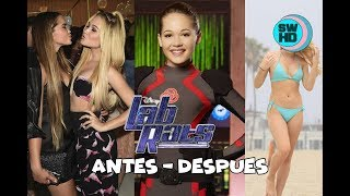 Lab Rats Before and After 2017 ⭐Lab Rats Antes y Despues 2017⭐