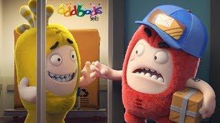 Oddbods   DELIVERY BOY   Funny Cartoons For Children   ओडबोड्स डिलीवरी बॉय