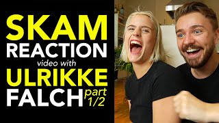 SKAM reaction with Ulrikke Falch!! Gossip, secrets and hooking! (ENGLISH SUBTITLES!!)