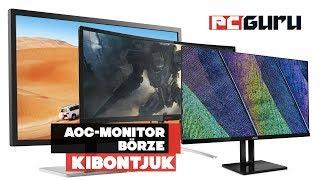 AOC monitorok börzéje ► Kibontjuk