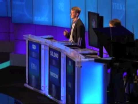 IBM's Watson Computer Plays Jeopardy!!!