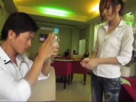Ảo thuật điện thoại xuyên chai Nguyễn Phương(shop bán đồ ảo thuật 0918003216)