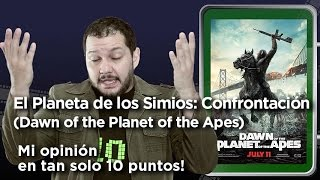 """Dawn of the Planet of the Apes"" (El Planeta de los Simios Confrontación): Crítica en 10 puntos"
