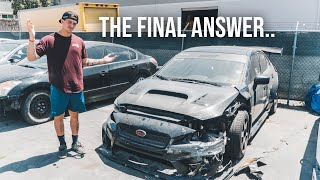Is the WRX totaled?