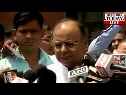 Arun Jaitley clarifies about the Swiss govt and black money issue