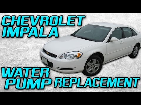2006 Chevrolet Impala Water Pump Replacement