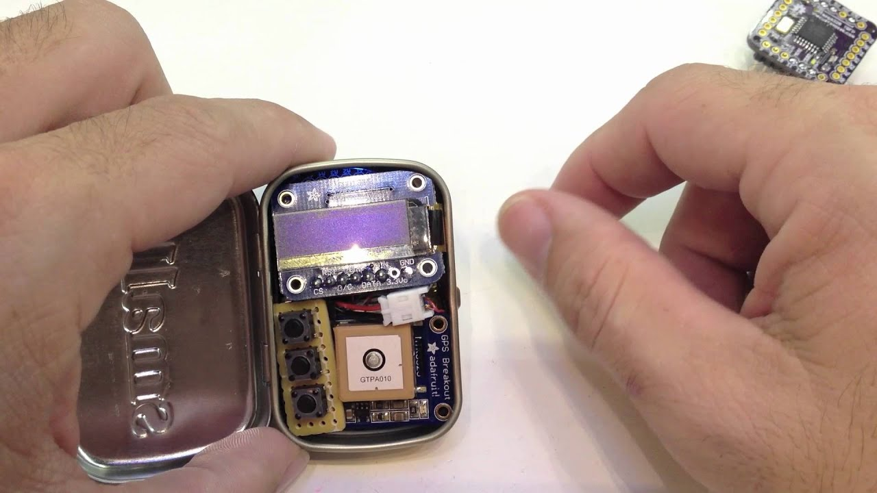 how to build a small gps tracker