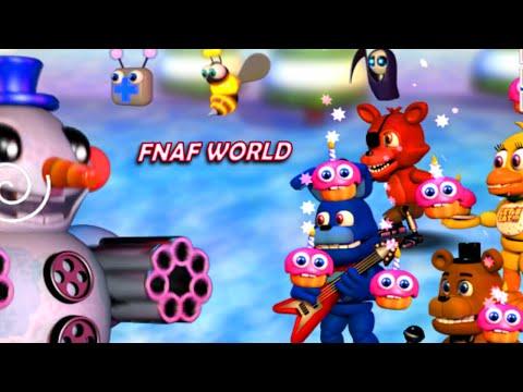 FNAF WORLD EP4 | With FaceCam | RADIOJH GAMES