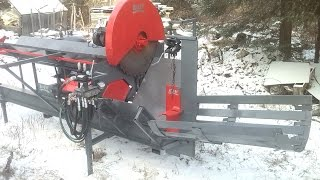 Homemade Firewood Processor 2815 Final