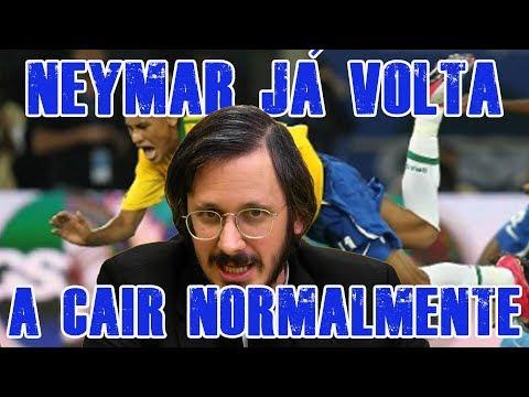FALHA DE COBERTURA #166: Neymar já Volta a Cair Normalmente thumbnail