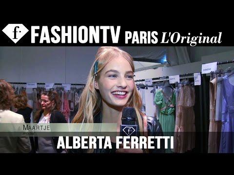 Alberta Ferretti Backstage | Milan Fashion Week Spring/Summer 2015 | FashionTV