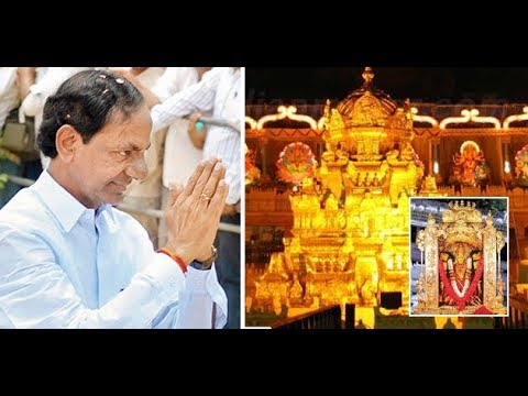 CM KCR LIVE @ Vijayawada Durga Temple - TV9 Telugu