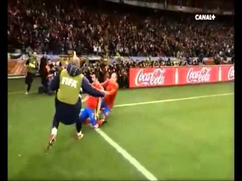 David Villa - Goals World Copa 2010