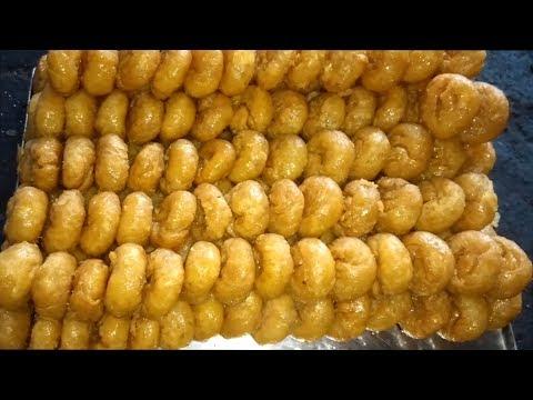 Badusha Sweet Making   badhusha   Baadhusha  Indian Sweets   Sweets Making Video