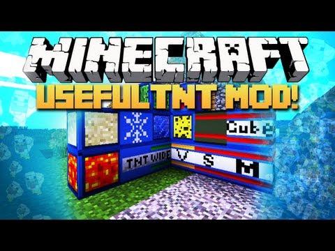 Minecraft: Mody 1.2.5 - UsefulTNT! (Przydatne TNT!)