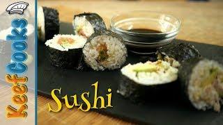 How to Make Sushi | Seafood, Seaweed and Rice