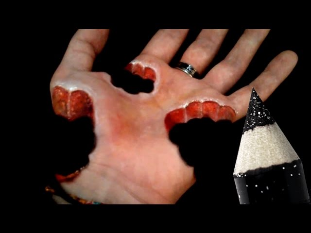 10 Cool illusions - Hand Art Makeup Compilation