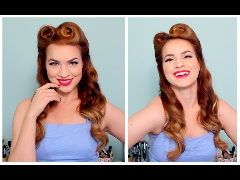 1940's   50's Pinup Hair And Makeup video