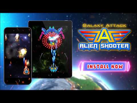 Galaxy Attack: Alien Shooter APK Cover
