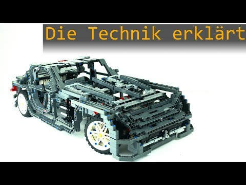Die Technik erklärt SLS AMG | Lego Mindstorms EV3 Advanced Robotics