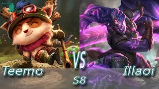 League of Legends - Teemo vs Illaoi - S8 Ranked Gameplay (Season 8)