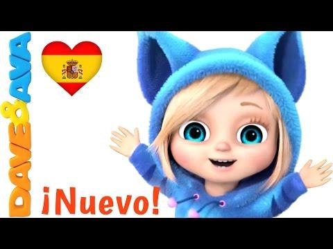 🌞 Si Eres Feliz y lo Sabes   Canciones Infantiles en Español de Dave y Ava 🌞