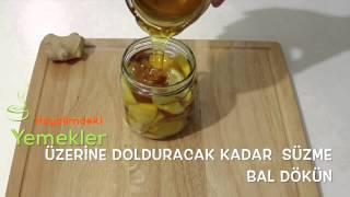Bitkisel Antibiyotik (zencefil, limon, bal, tarçın)