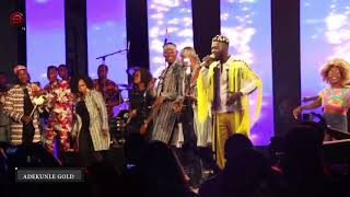Adekunle Gold Thrills Fans With A Golden Performance At #ONSWAG 2017