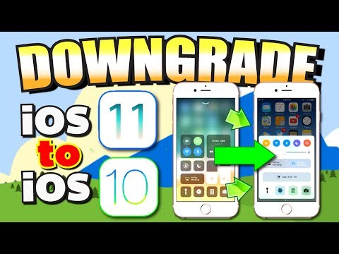 DOWNGRADE iOS 11 to iOS 10 on iPhone, iPad, iPod Touch (MAC OSX/WINDOWS PC)
